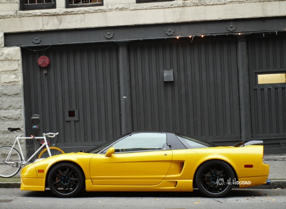Acura NSX side view_ modified