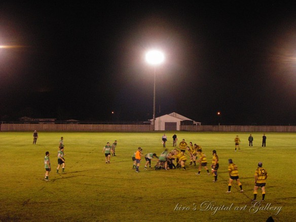 Rugby game in Waipu