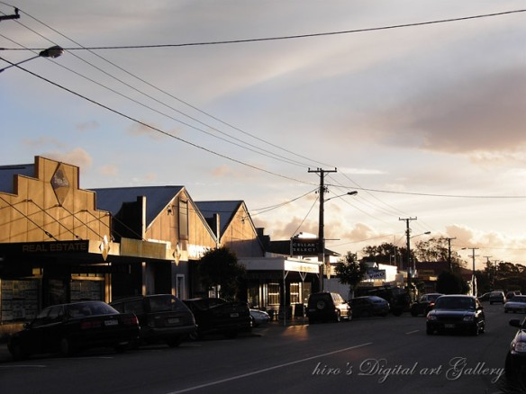 Main street of Waipu