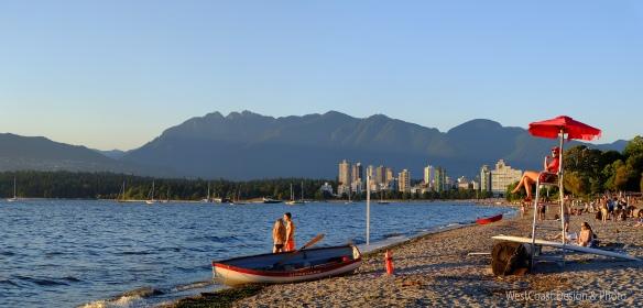 kitsulano beach, Vancouver, BC